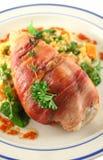 prosciutto 2 κοτόπουλου στοκ εικόνες