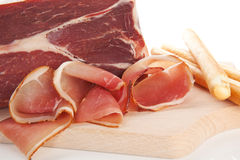 Prosciutto. Royalty Free Stock Image