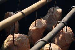 Prosciutto affumicato tradizionale Fotografia Stock Libera da Diritti