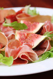 Prosciutto And Fig Salad Royalty Free Stock Photo