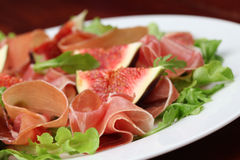 Prosciutto And Fig Salad Royalty Free Stock Image
