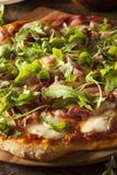 Prosciutto and Arugula Pizza Stock Photos