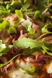 Prosciutto and Arugula Pizza Royalty Free Stock Photos