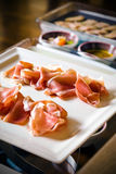 Prosciutto Banquet Royalty Free Stock Image