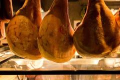 Prosciutto crudo della carne di maiale della squisitezza nazionale fotografia stock