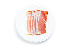 Prosciutto crudo ham Royalty Free Stock Photo