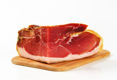 Prosciutto crudo Royalty Free Stock Photo