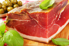 Prosciutto crudo Royalty Free Stock Photos