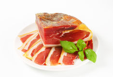 Prosciutto crudo Stock Photos