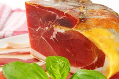 Prosciutto crudo Royalty Free Stock Images