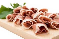 Prosciutto Crudo, Italian Ham Stock Photo
