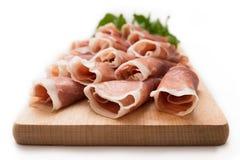 Prosciutto Crudo, Italian Ham Stock Images
