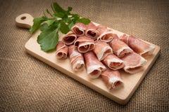 Prosciutto Crudo, Italian Ham Stock Image