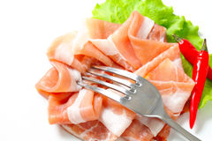 Prosciutto di Parma Royalty Free Stock Photos