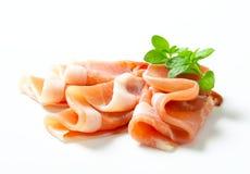 Prosciutto Di Parma Stockfoto