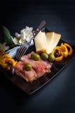 Prosciutto di Parma Appetizer Stock Image