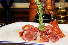 Prosciutto di Parma Royalty Free Stock Images
