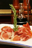 Prosciutto di Parma. Is the gold standard of Italian prosciutto and it has been for centuries: Parma ham has been crafted with the same painstaking care since Stock Image