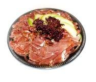 Prosciutto di Parma ham and melon Stock Images
