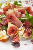 Prosciutto di Parma sałatka Zdjęcie Stock