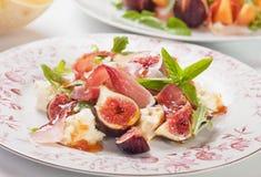 Prosciutto di Parma sałatka Obrazy Stock