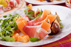 Prosciutto di Parma salad Stock Photo