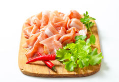 Prosciutto di Parma Stock Photo