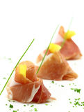 Prosciutto finger food Stock Photo