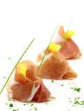 Prosciutto finger food Stock Photo