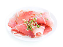 Prosciutto Ham Royalty Free Stock Images