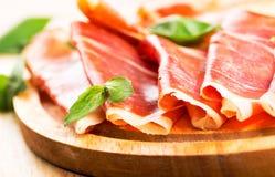 Prosciutto Ham Stock Images