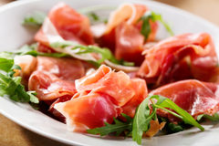 Prosciutto ham Royalty Free Stock Photos