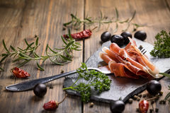 Prosciutto Stock Photography