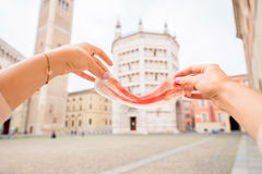 Prosciutto in Parma Royalty Free Stock Photography