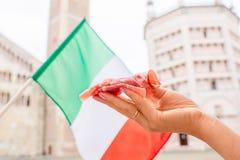 Prosciutto in Parma Stock Photography
