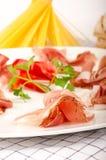 Prosciutto Plate  Stock Image