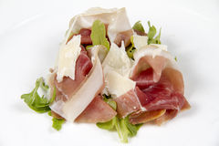 Prosciutto and rucola Royalty Free Stock Photo