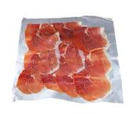Prosciutto slices Stock Photography