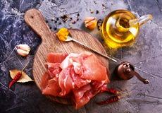 Prosciutto Stock Image
