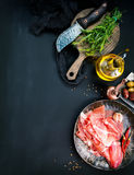 Prosciutto Royalty Free Stock Images