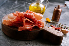 Prosciutto Royalty Free Stock Photography