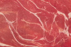 Prosciutto texture Stock Photo