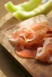 Prosciutto With Melon Royalty Free Stock Image