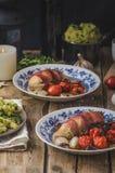 Prosciutto zawijający kurczak Obraz Royalty Free