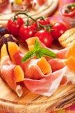 Prosciuttodi Parma Stock Afbeelding