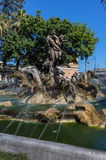 Proserpine fountain in Catania, Sicily, Italy Royalty Free Stock Photos
