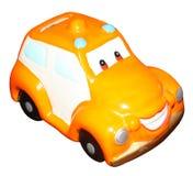 Prosiątko banka zabawki samochód Obraz Royalty Free