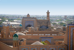The prospect of ancient Khiva. stock image