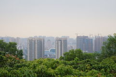 The prospect of City Scenery Stock Photos
