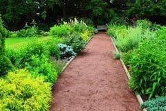Prospect Garden Princeton University Stock Image